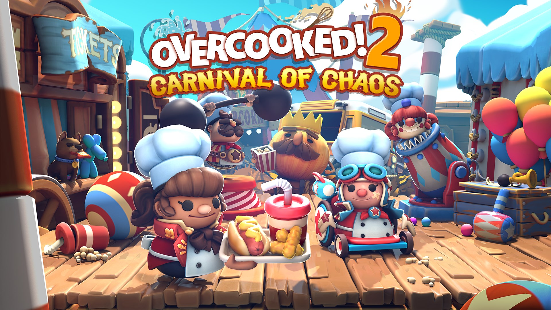 Overcooked 2: Carnival of Chaos